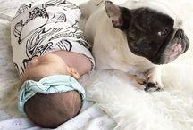 Bubs & Pups / We love puppies, and we love babies!