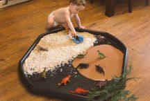 Learning through play / Activities to do with children - messy / sensory / imaginative play