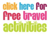Free Travel Activities for Children / Travelling with children can be challenging even at the best of times. Here are a few ideas to help speed the journey and keep the kids entertained.