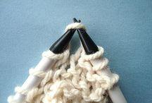 Knitting, Sewing, etc. / by Tara Le