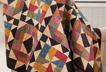 Patchwork quilts. / mønstre