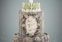 Elegant/pastel cakes / Elegant/pastel engagement, wedding, birthday cakes