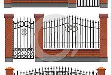 diseño puertas forja