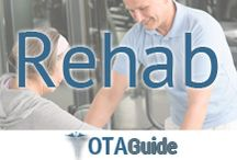 OTA Rehab Therapy / These pins share the best #rehab and #therapy methods that #OTs and #OTAs are using with their patients