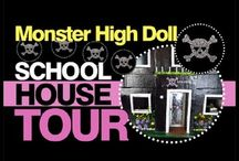 Monster High School House / by Lolas Mini Homes