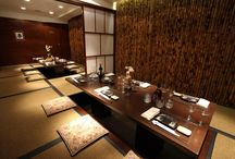Japanialaisia ravintoloita / ravintoloita ja ruokia