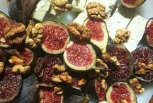 Getting creative with figs / Come mangiare i fichi / To many figs, not enough ideas