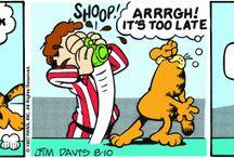 Garfield coffee comics
