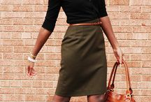Closet -  Business Casual, Skirts / Skirt outfit ideas for work