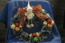 Mi Navidad / Echas por mi...........Todo para decorar en navidad, arboles, adornos, colgantes, centros de mesa etc.