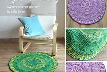 Crochet rugs/mats