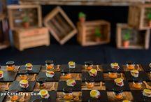Pon una estación de Mason Jars en tu boda // Include a Mason Jars station at your wedding
