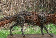 kippengaas sculpture