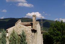Val Topina (PG) / Val Topina a ridosso del monte Subasio