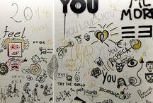 YOUWALL / Visitas posando en el muro de YOU! ;)