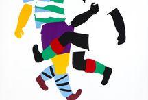 / Affiche Polonaise / 1950 à 1989. Art de rue, provoquer des émotions. Images, illustrations simples qui attirent, subjectivité, couleurs vives, typo intégrée. Henryk Tomaszewski, Waldemar Swierzy, Roman Cieslewicz, Viktor Gorka, Wojciech Zamecznik, Franciszek Starowieywki.