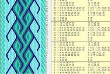 Brikkevev/ tablet weaving. / Håndtverk