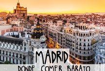 Madrid lugares baratos para comer