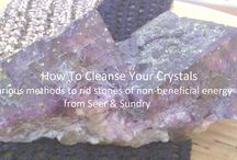 Crystals, Stones, & Gems / The Magick of Crystals works like any other tool - their vibration is used to draw in the desired effect of the intention.
