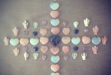 Crystal Grids / Sending you all lots of healing energies, love & Angel protection xxx