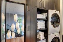 Cuarto de Lavado / El cuarto de lavado no tiene por qué ser feo o aburrido. Te damos ideas para que renueves el tuyo con mucho estilo.