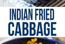 Fried cabbage