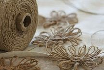 ~Burlap & Twine~ / by Kelly Backhus