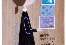 envelopes mail art