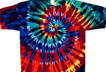 Tie Dye Golf Shirts / A collection of high quality tie dye golf shirts