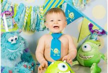 "Our little ""monster"" is turning ONE! / Masons first birthday in monsters inc theme / by Whitney Wright"