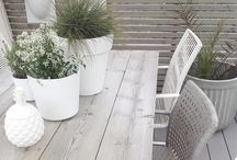 The White Collection / A selection of our favorite outdoor spaces, decor, and DIY projects to pair with our white outdoor furniture.