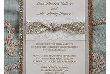 Invitations/Stationary