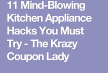 Hints to use kitchen appliances