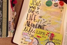 Bible Art Journaling Inspiration / I'm getting into the creative Bible journaling and hope to fill this board with examples to inspire me. #BibleJournaling #IllustratedFaith