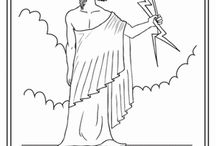 Greek Mythology Coloring Pages / #mythology #coloring