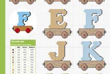 kanaviçe alfabe