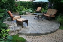 Big Ideas for Small Patio Pavers / Paver House shares big ideas for making the most of your small patio. Reinvent your yard with a new paver patio deck. Choose from Brick or Travertine Pavers.