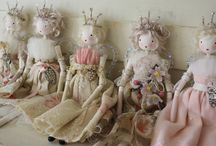 Fairy dolls: Betty and Violet