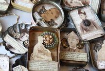 Mixed Media Etc! / Mixed Media using canvas or altered items.