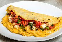 Low Carb Pizza / Pfannkuchen / Omelett