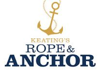 Keating's Rope & Anchor, Bar + Kitchen / Keating's Rope & Anchor Bar + Kitchen is a nautical influenced restaurant, proudly serving contemporary American cuisine with an emphasis on sustainable seafood.
