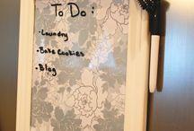 Dry Eraser Clipboard / Gift For School teacher
