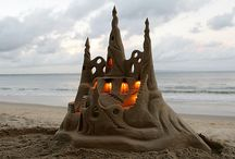 Sandcastles In The Sand... / by Linda Johnson