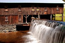 Classic Colonial Homes / Our historic mill in Leverett Mass