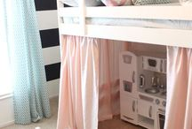 Kids bedroom ideas / Ideas for my daughter and soon to be son's room