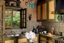 wooden house interiors
