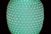 Hobnail glassware