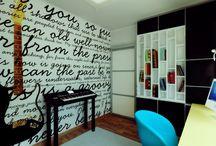 Home Design / Interior design of the flats that I adore