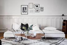 Living & Lifestyle   Black + White Living Room