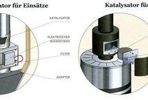 Abgas Katalysator Zéro CO für Einsätze und Öfen / Abgas Katalysator Zéro CO für Einsätze und Öfen  Wenn die Verbrennung nicht optimal verläuft, können die Rauchgase älterer Geräte Kohlenmonoxid belastet sein. Um diese Belastungen zu verringern, löst der Katalysator Zéro CO die Oxidation mit dem noch im Rauchgas vorhandenen Sauerstoff aus. Dies ermöglicht, den CO-Gehalt unter 0,03% zu senken. So werden die CO-Emissionen auch von vorhandenen Geräten reduziert, deren technische Eigenschaften nicht mehr den aktuellen Anforderungen entsprechen.